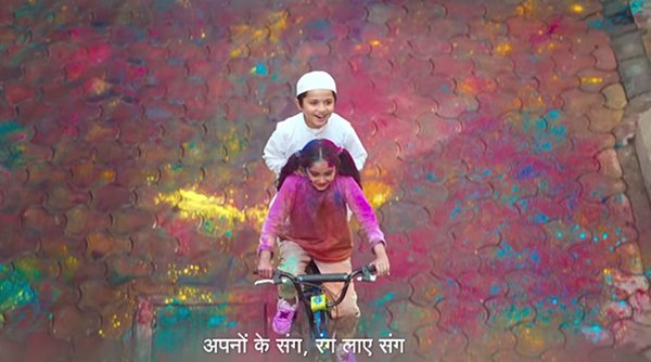 Microsoft Excel Confused With Surf Gets Hate Messages-Hate Messages Hindustan Unilever Limited Holi Advertisement Microsoft's App Ad