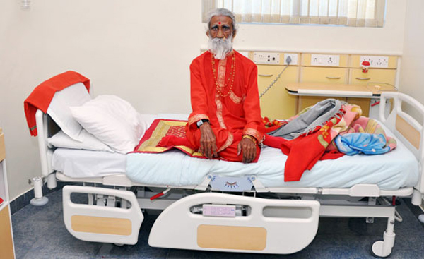 Prahlad Jani A Man Without Food And Water For Over 79 Years-Divine Inspiration No Nor Observation 10 Days