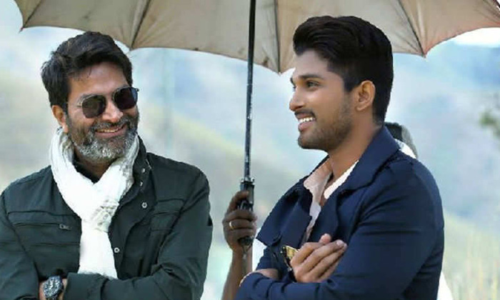 Allu Arjun Dual Role In Trivikram Movie-Direction Dual Movie Updates Trivikram Venu Sriram