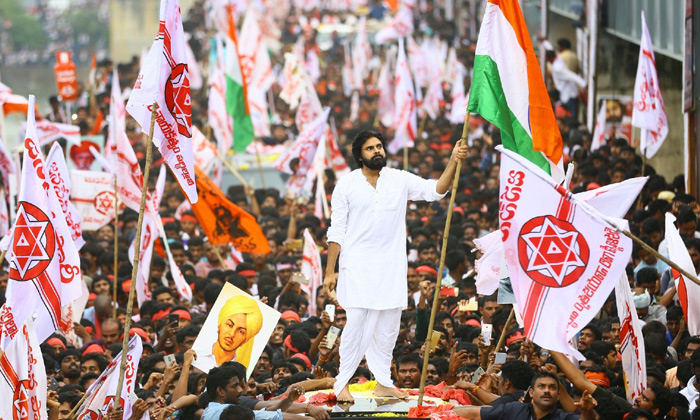 Does Pawan Acts Just For Elections-Elections Groups Janasena Pawan Kalyan People Political Updates Social Media Whatsapp