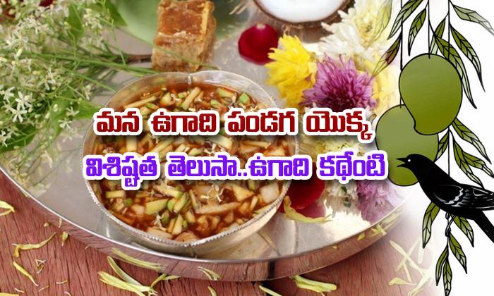 Importance Of Telugu Ugadi Festival- Telugu Devotional Bhakthi(తెలుగు భక్తి ) Importance Of Telugu Ugadi Festival--Importance Of Telugu Ugadi Festival-