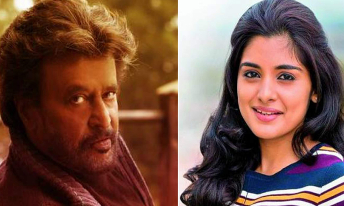 Nivetha Thomas Acted Daughter Role In Rajinikanth Movie--Nivetha Thomas Acted Daughter Role In Rajinikanth Movie-