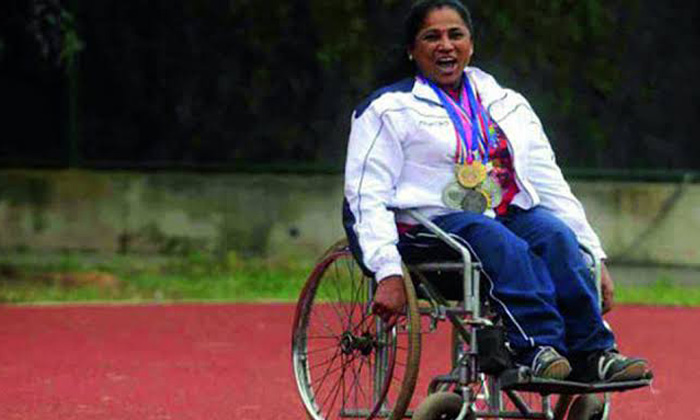 Over 400 Rewards To Indian By Crossing The Disability-400 Brave Lady Crossing Disability General Telugu Updates India