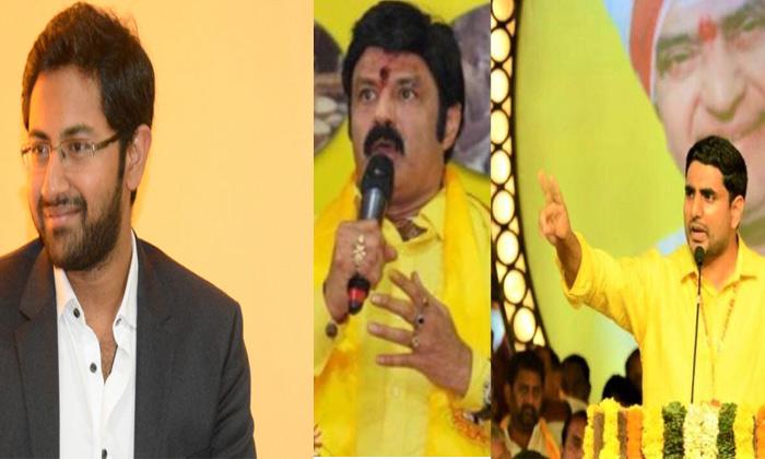 Political War Between Balakrishna Nephews--Political War Between Balakrishna Nephews-
