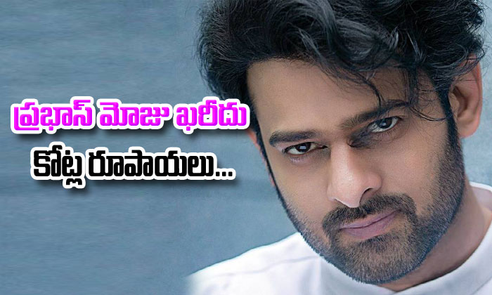 Prabhas Takes Cars And Bikes From Saaho--Prabhas Takes Cars And Bikes From Saaho-
