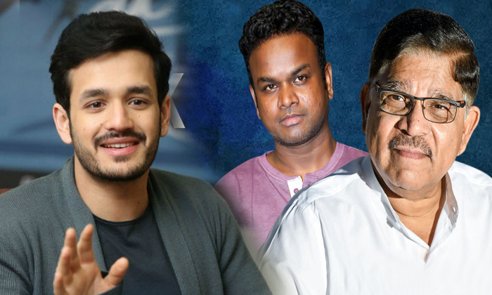 Akhil 4 With Director Bommarillu Bhaskar--Akhil 4 With Director Bommarillu Bhaskar-