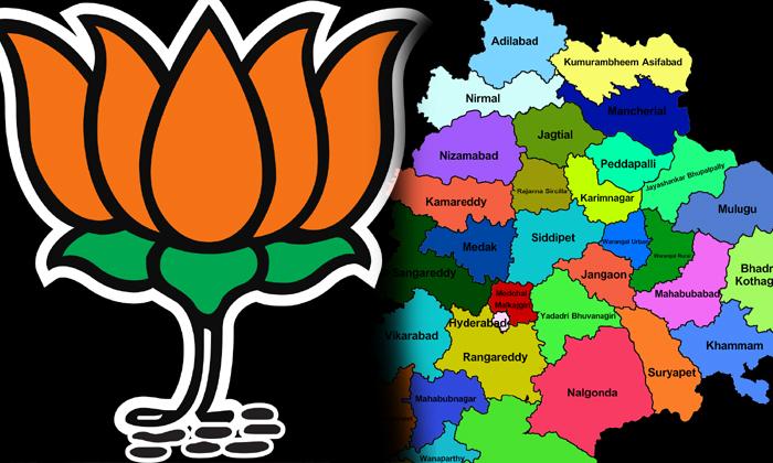 Bjp Focus On Telangana State--BJP Focus On Telangana State-