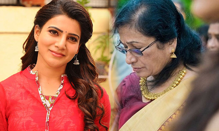 Samantha First Time Introduced Her Mother--Samantha First Time Introduced Her Mother-