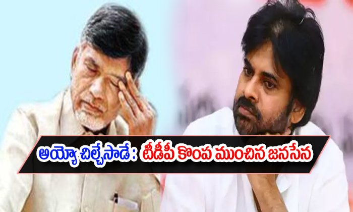 Tdp Was Too Much Effect With Janasena Party--TDP Was Too Much Effect With Janasena Party-