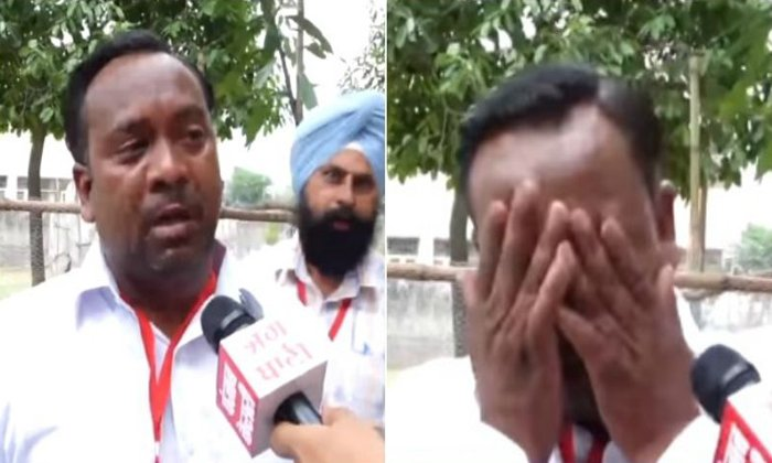 Punjab Parliament Candidate Cries After Getting Only 5 Votes--Punjab Parliament Candidate Cries After Getting Only 5 Votes-