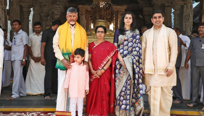 Chandrababu Naidu In Foreign Tour With Family--Chandrababu Naidu In Foreign Tour With Family-
