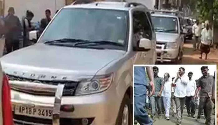 Changes In Ap Cm Jagan Convoy--Changes In AP CM Jagan Convoy-