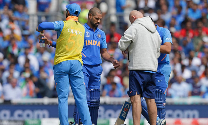 Dhawan Out From The World Cup--Dhawan Out From The World Cup-