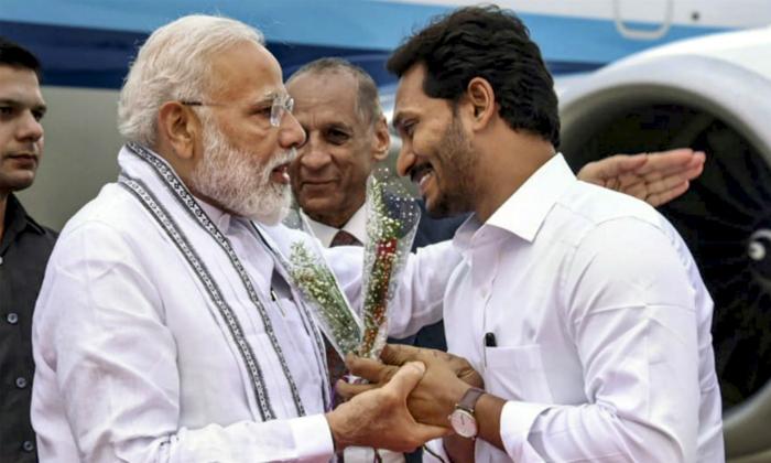 Ys Jagan Request To Modi About Specialstatus--YS Jagan Request To Modi About SpecialStatus-