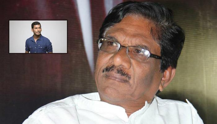 Director Bharati Raja Sensational Comments On Vishal--Director Bharati Raja Sensational Comments On Vishal-