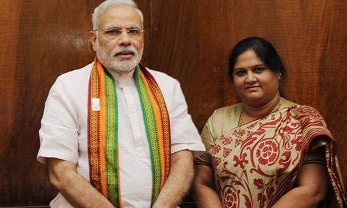 Ex Mp Kotthapalli Geetha Joins Bjp Party--EX MP Kotthapalli Geetha Joins BJP Party-