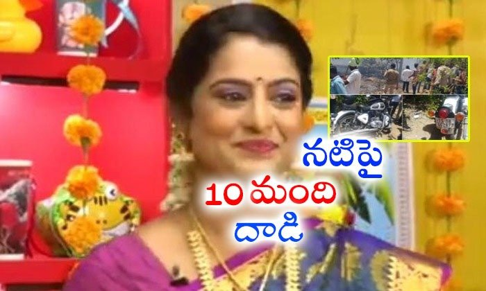 Hair Dresses Jyothika Attack On Serial Actress Ragamadhuri--Hair Dresses Jyothika Attack On Serial Actress Ragamadhuri-