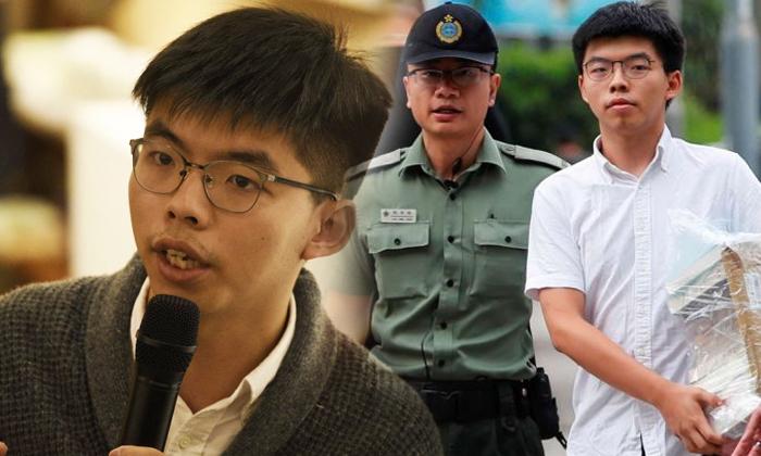 Hong Kong Activist Joshua Wong Is 22 Years Young Boy--Hong Kong Activist Joshua Wong Is 22 Years Young Boy-