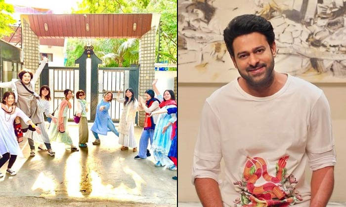 Japan Girls Photo-shoots On Prabhas House In Hyderabad--Japan Girls Photo-shoots On Prabhas House In Hyderabad-