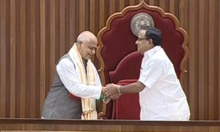 Tammineni Unified Elected As Ap Speaker--Tammineni Unified Elected As AP Speaker-