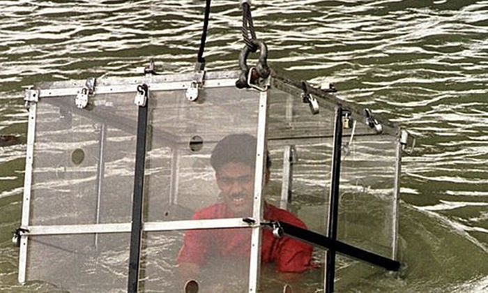 Indian Stuntman Wizard Mandrake 40 Is Missing After Being Lowered Into The Ganges--Indian Stuntman Wizard Mandrake 40 Is Missing After Being Lowered Into The Ganges-