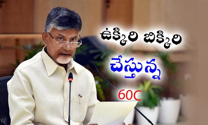 """బాబు ని ఉక్కిరి బిక్కిరి చేస్తున్న """"60c""""…!!!!--Chandrababu Naidu Bothering About 60C-"""