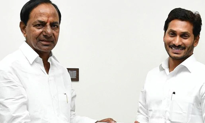 Competition Between Cm Kcr And Cm Jagan--Competition Between CM Kcr And Jagan-