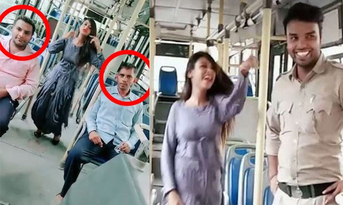 Dtc Bus Driver-conductor Suspended For Viral On Social Media--DTC Bus Driver-conductor Suspended For Viral Videos On Social Media-