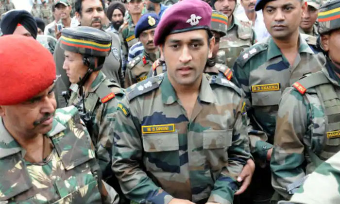 Ms Dhoni Takes A Break From Cricket To Serve Indian Army--MS Dhoni Takes A Break From Cricket To Serve Indian Army-