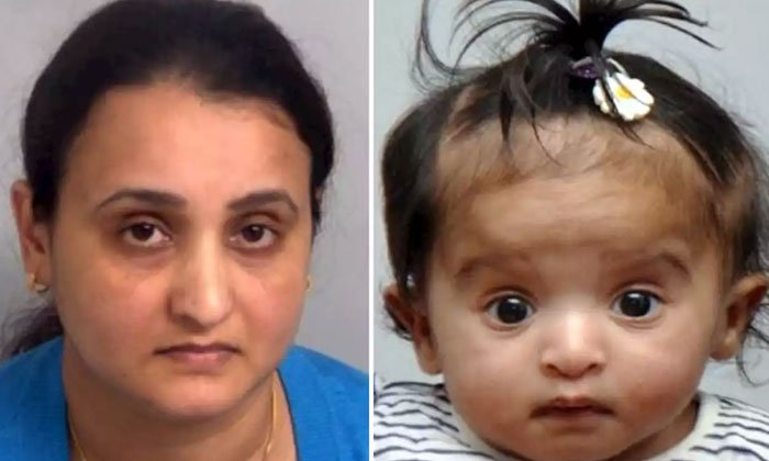 Mum Battered Her Seven-month-old Baby Girl To Death--Mum Battered Her Seven-month-old Baby Girl To Death-