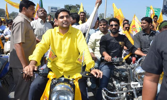 Nara Lokesh Smal Yatra For Tdp Use- Telugu Political Breaking News - Andhra Pradesh,Telangana Partys Coverage Nara Lokesh Smal Yatra For Tdp Use--Nara Lokesh Smal Yatra For TDP Use-