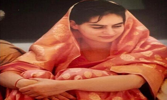 Priyanka Gandhi Shares Throwback Photo Of Her Wedding Day Joining--Priyanka Gandhi Shares Throwback Photo Of Her Wedding Day Joining-