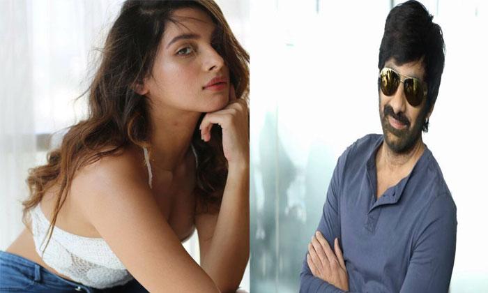 Tanya Hope Fourth Chance With Ravi Teja--Tanya Hope Fourth Chance With Ravi Teja-