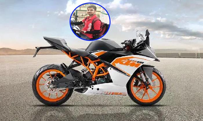 Zomato Dery Boy Buy His Dream Bike--Zomato Delivery Boy Buy His Dream Bike-