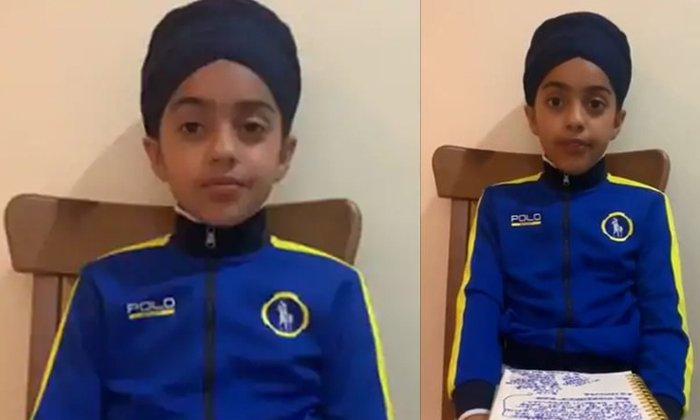 10 Year Old Sikh Girl Message After Being Called Terrorist--10 Year Old Sikh Girl Message After Being Called Terrorist-