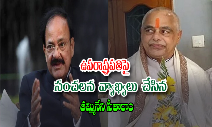 Ap Assembly Speaker Tammineni Comments On Vice President--AP Assembly Speaker Tammineni Comments On Vice President-