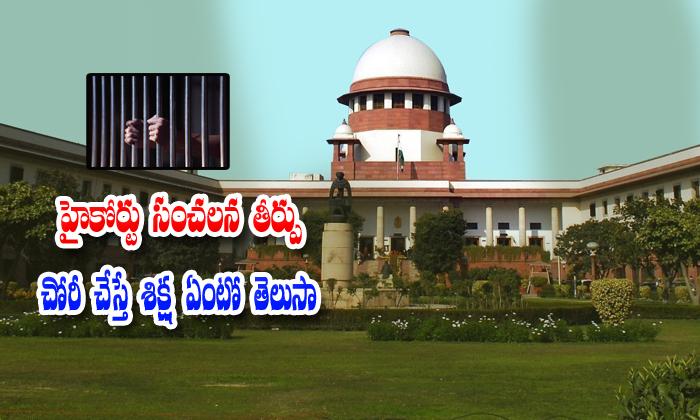 Delhi Court Sensational Decision About Theft Cases--Delhi Court Sensational Decision About Theft Cases-