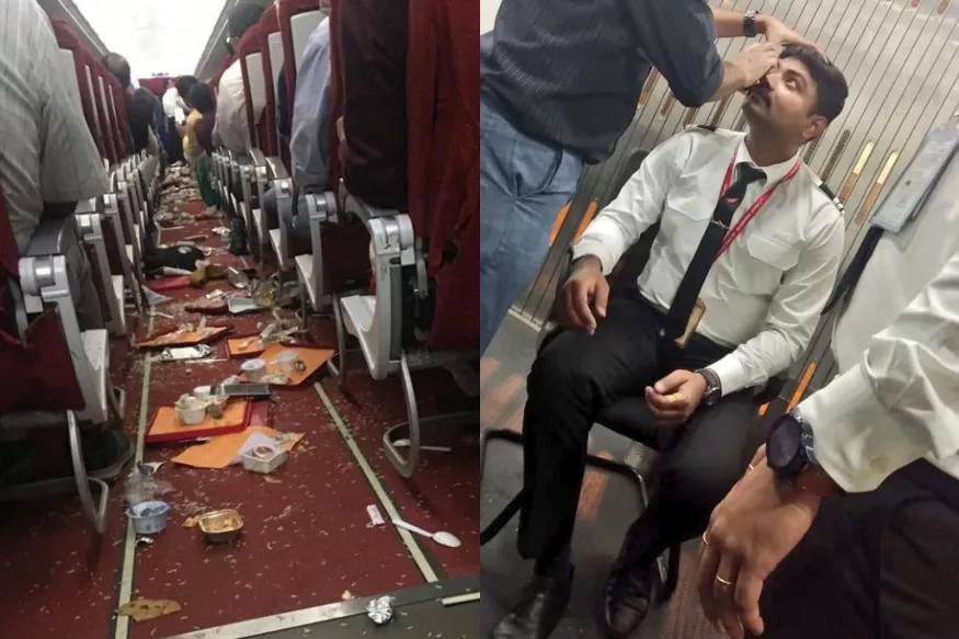 Air India Flights Suffer Damages After Severe Thunderstorms-air India Plane,new Delhi To Vijayawada,severe Thunderstorms-Air India Flights Suffer Damages After Severe Thunderstorms-Air Plane New Delhi To Vijayawada Thunderstorms