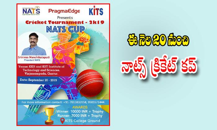 Nats Cricket Tournament,telugu Nri News Updates---Nats Cricket Tournament Telugu Nri News Updates