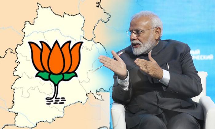 Telangana Bjp Wants To Improve Strength In Telangana-bjp,kcr,narendra Modi,telangana Bjp,telangana Politics,trs-Telangana BJP Wants To Improve Strength In Telangana-Bjp Kcr Narendra Modi Telangana Bjp Politics Trs