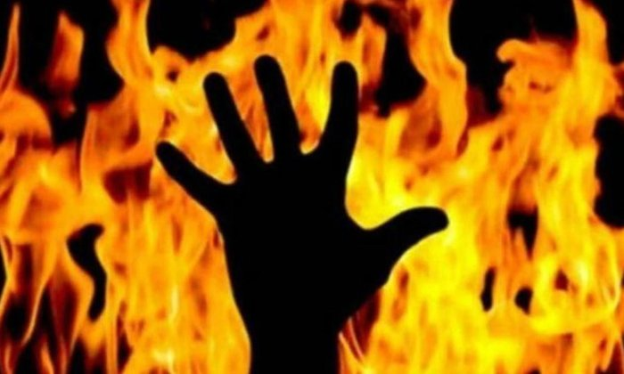 Man Suspected To Have Been Burnt A On Funeral Pyre-anjaneyulu,hyderabad Sameerpet Police Station,man Suspected-Man Suspected To Have Been Burnt Alive On Funeral Pyre-Anjaneyulu Hyderabad Sameerpet Police Station