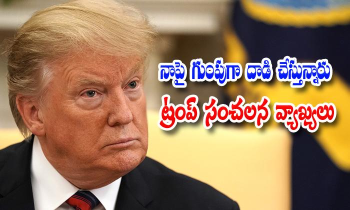 Donald Trump Sensational Comments On Democrat Party Leaders-donald Trump,donald Trump Comments On Democrat Party,nri,telugu Nri News Updates-Donald Trump Sensational Comments On Democrat Party Leaders-Donald Donald Nri Telugu Nri News Updates