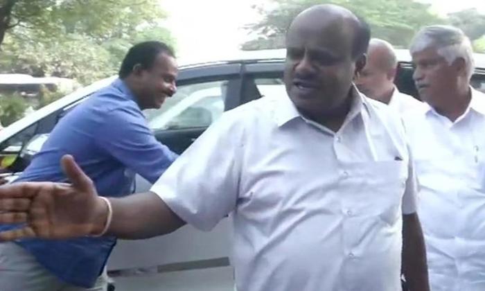 Hd Kumaraswami Went To Tihar Jail-kranataka Politics,kumaraswami .,tihar Jail-HD Kumaraswami Went To Tihar Jail-Kranataka Politics Kumaraswami . Jail
