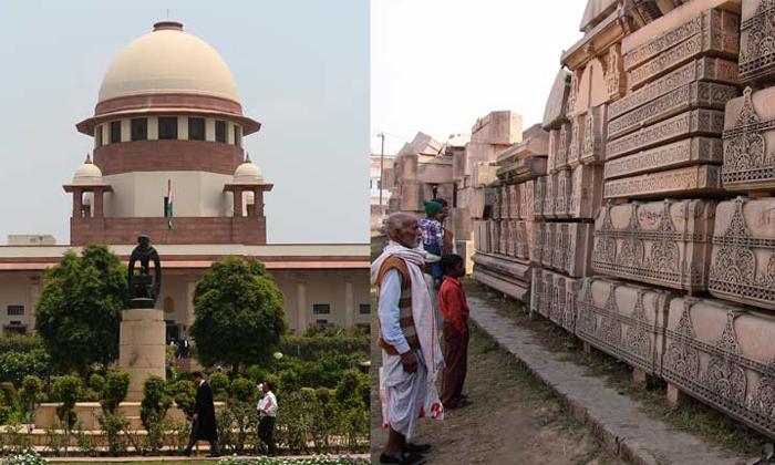 High Drama At Supreme Court-rajiv Dhavan,ram Birth Place,ramjan Gogayi,supreme Court-High Drama At Supreme Court-Rajiv Dhavan Ram Birth Place Ramjan Gogayi Court