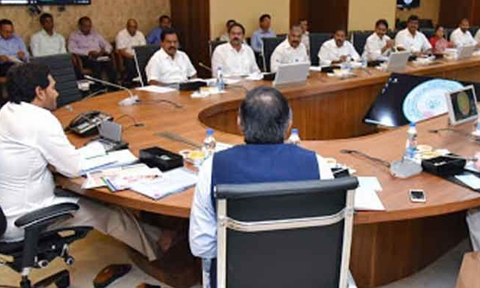 Jagan Cabinet Meeting Jagan Take The Class In Ycp Ministers-jagan,jagan Give The Strict Class To Ycp Ministers,ycp Jagan Mohan Reddy Cabinet Ministers-Jagan Cabinet Meeting Take The Class In YCP Ministers-Jagan Jagan Give Strict To Ycp Ministers Mohan Reddy