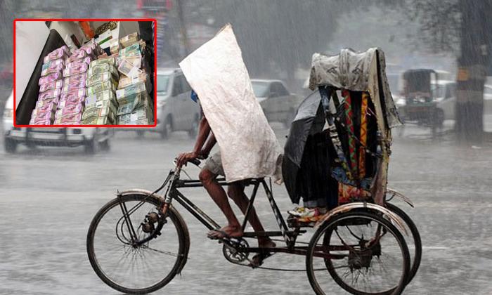 Rikshawala Win 50 Lakh Rupees Because Of Rain-nagaland Rikshawala,rikshawala-Rikshawala Win 50 Lakh Rupees Lottery Because Of Rain-Nagaland