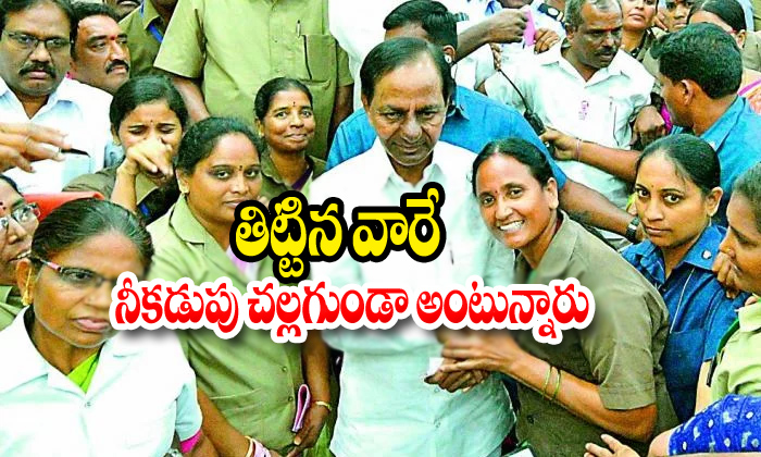 Rtc Workers Comments About Cm Kcr-telangana Cm Kcr,telangana Rtc Strike Telugu Viral News Rtc Workers Comments About Cm Kcr-telangana Kcr Telangana Strike-RTC Workers Comments About CM KCR-Telangana Cm Kcr Telangana Rtc Strike