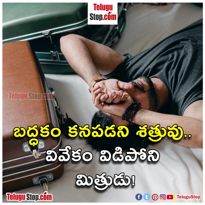laziness quotes in telugu Inspirational Quote