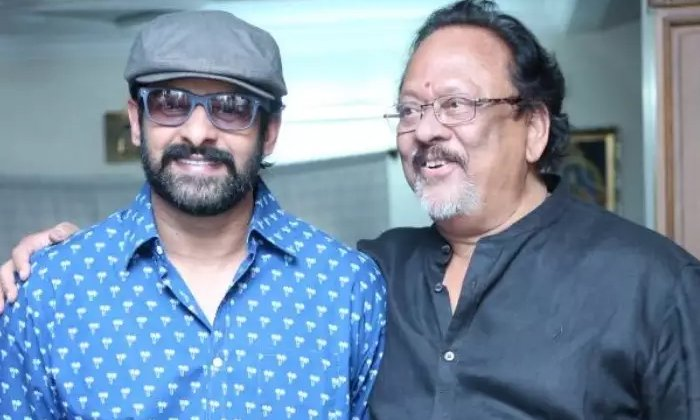 Telugu Adjusting, Krishnam Raju Hair, Prabhas, Rebel Star, Viral-Movie