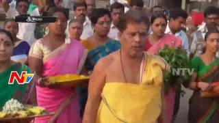 Special Pooja to Ganga Devi at Srisailam Pathala Ganga | Latest Updates | NTV Photo Image Pic